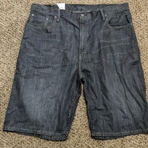 Levi's men's loose straight 569 shorts 42
